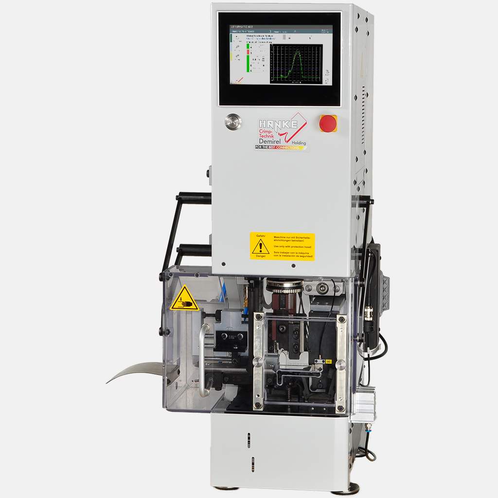 mechanical press, CFA, Crimp Force Analyzer, stripping module, stripper, crimper, applicator, connector, terminal, crimping, stripping