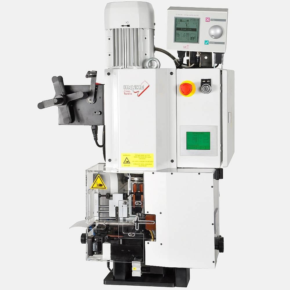 механический пресс с модулем до монтажа прокладок, прокладка, аппликатор, наконечник, опрессовка, снятие изоляции